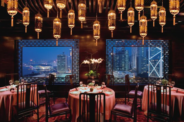 Man Wah at the Mandarin Oriental Hong Kong