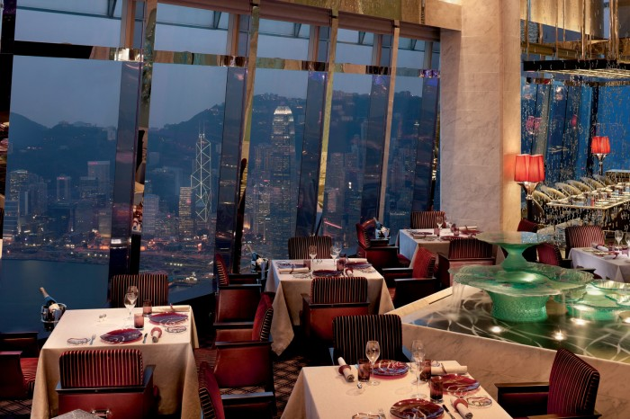 Tosca at the Ritz Carlton Hong Kong