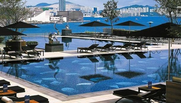 The Four Seasons Hong Kong Swimming Pool