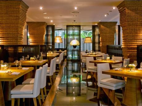 Nahm restaurant at the Metropolitan hotel Bangkok