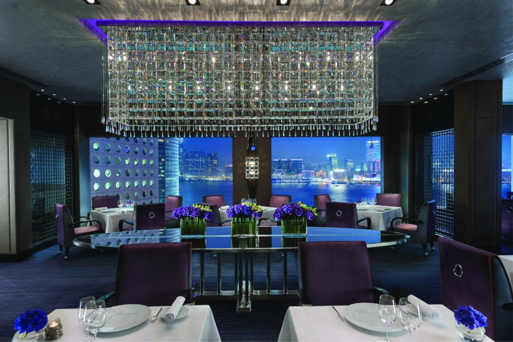 Pierre - Pierre Gagniere's 2 Michelin starred restaurant at the Mandarin Oriental Hong Kong