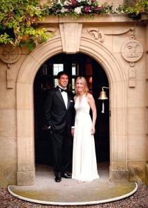 The Bride wore Jenny Peckham