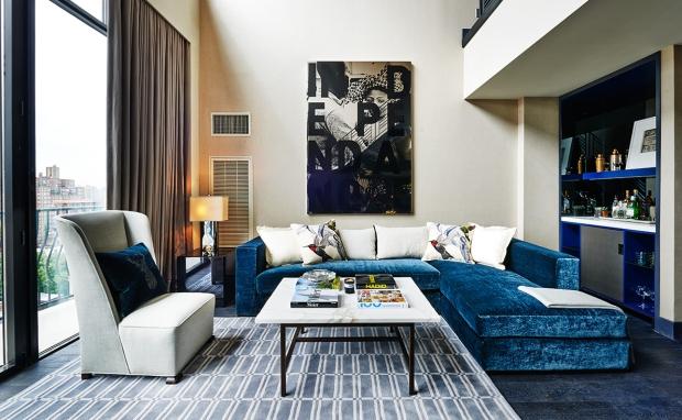 Sixty Soho hotel, New York, designed by Tara Bernerd