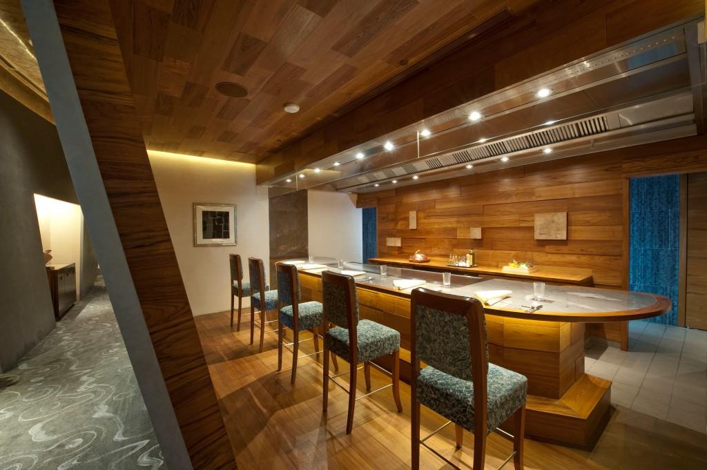 Waku Ghin private dining room, Singapore
