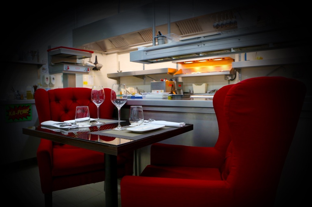 The Chef's Table at Bacchanalia