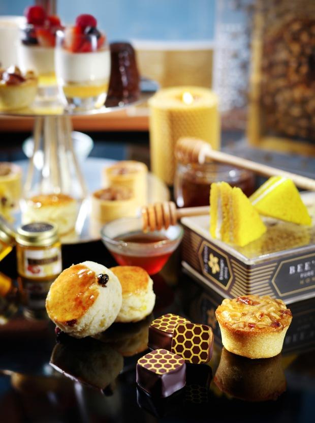 Honey Bee Afternoon Tea at Ritz Carlton Hong Kong