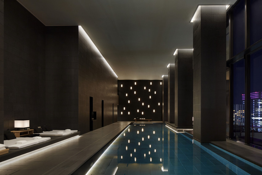 Hotel Swimming Pools In Tokyo Chopstix Amp The City