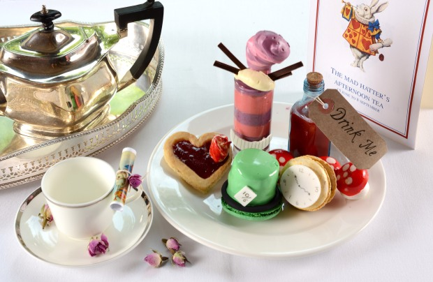 The Mad Hatter's Afternoon Tea at The Montagu, Hyatt Regency London The Churchill