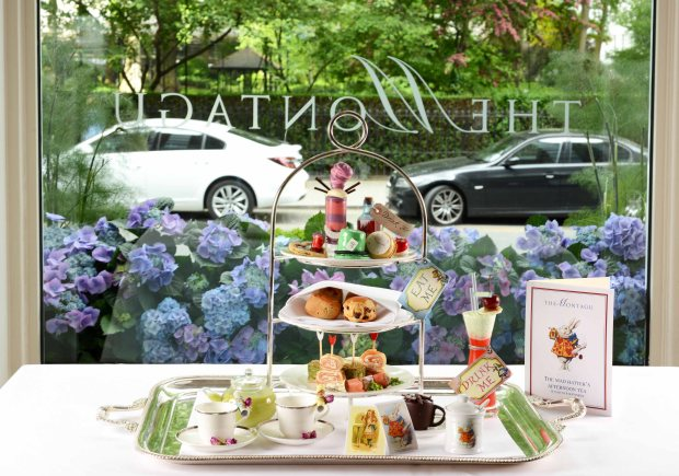 Mad Hatter's Afternoon Tea at The Montagu, Hyatt Regency - The Churchill