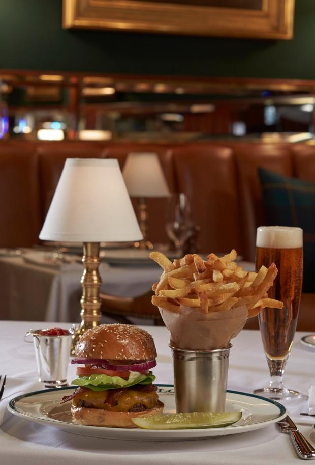 The Polo Bar burger