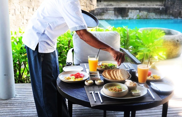 Breakfast at Alila Villas Soori