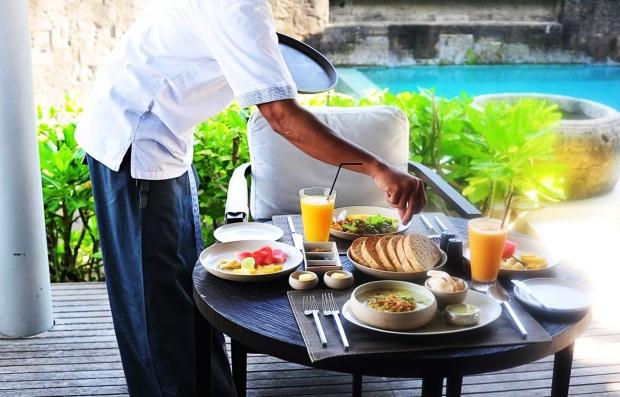 Breakfast at Alila Villas Soori