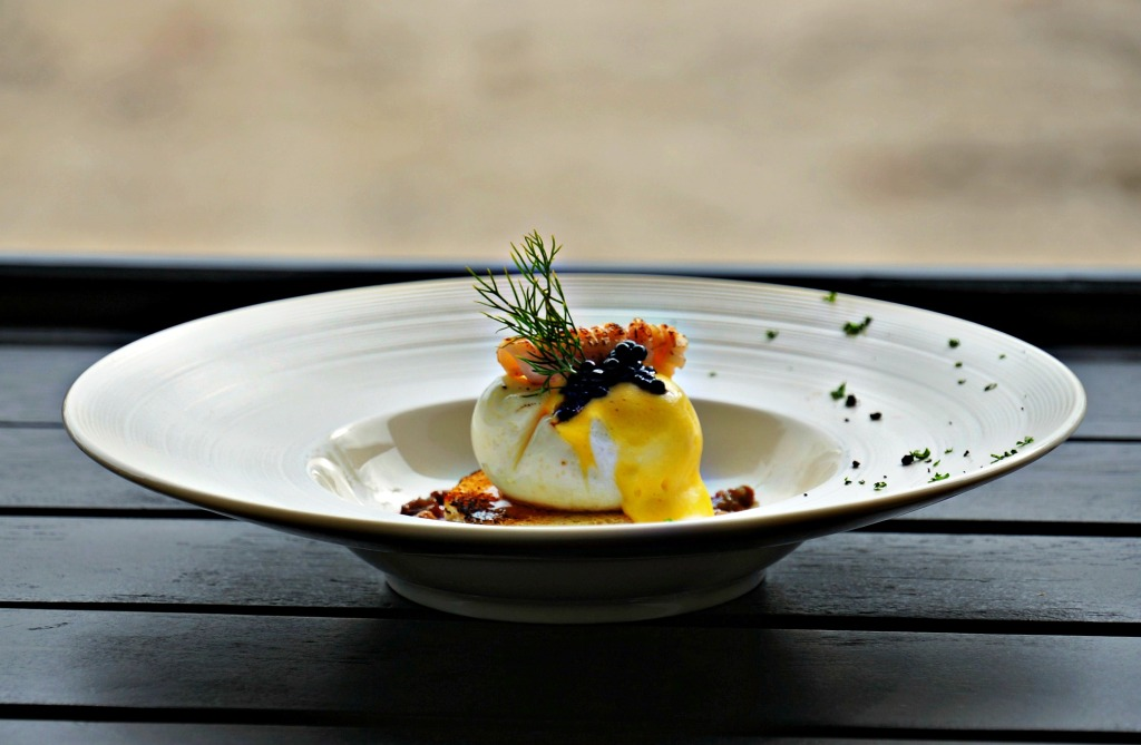 Sous Vide Egg Innovation at The Sanchaya, Bintan