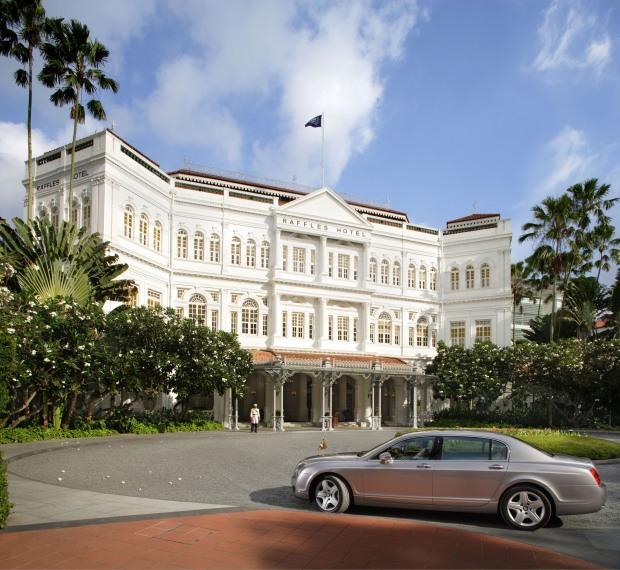 Raffles Hotel Singapore - home of the Singapore Sling