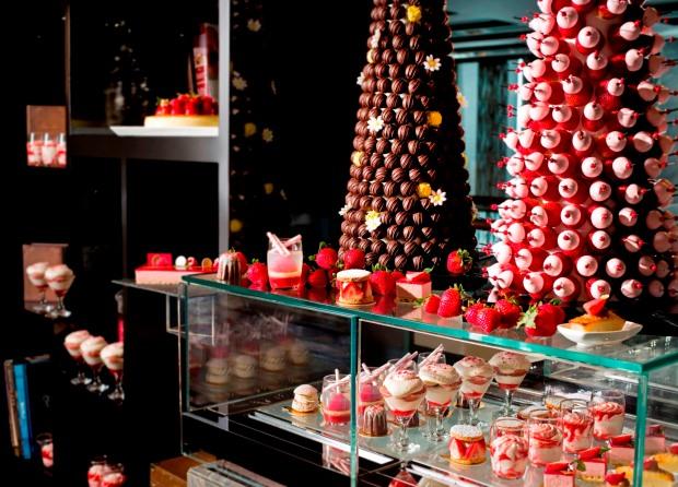Strawberry Chocolate Tea Buffet