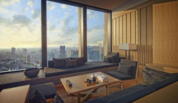 Aman Tokyo guest room
