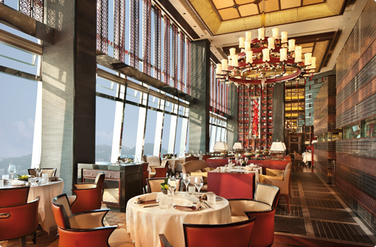 Tin Lung Heen at the Ritz Carlton Hong Kong