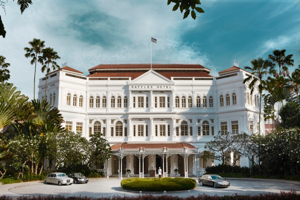 Raffles Hotel Singapore, home of the Singapore Sling