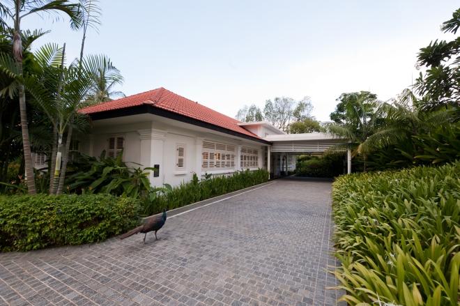Colonial Manor, Capella Singapore