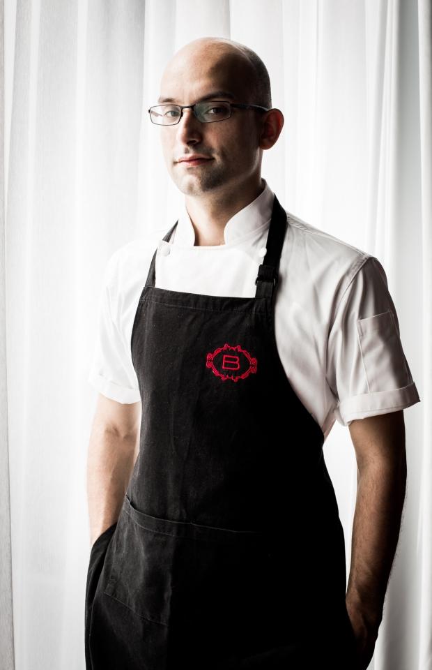 Chef Ivan Brehm at Bacchanalia Singapore