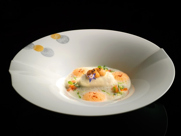 A dish at Joel Robuchon Singapore