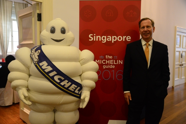 Michael Ellis, international director of the Michelin Guides