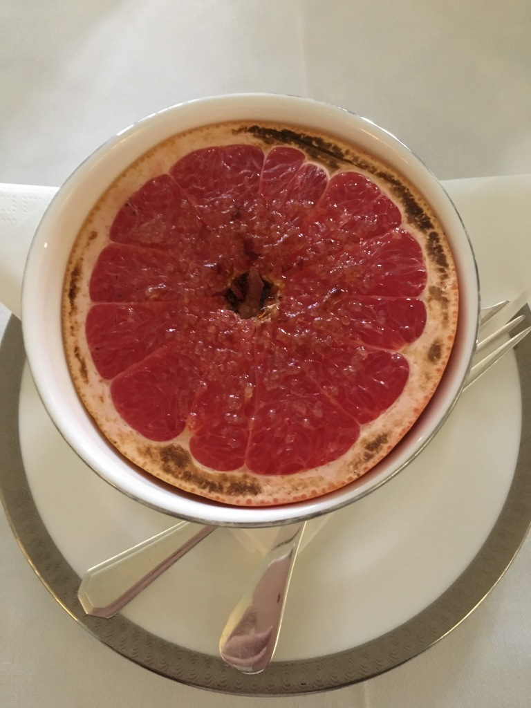 Half a grapefruit