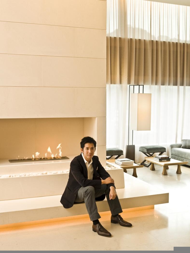 Andre Fu at The Upper House, Hong Kong
