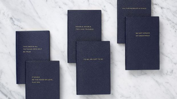 Smythson Shakespeare set