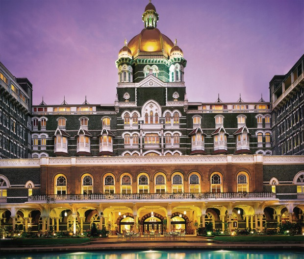 Taj Mumbai swimming pool.jpg