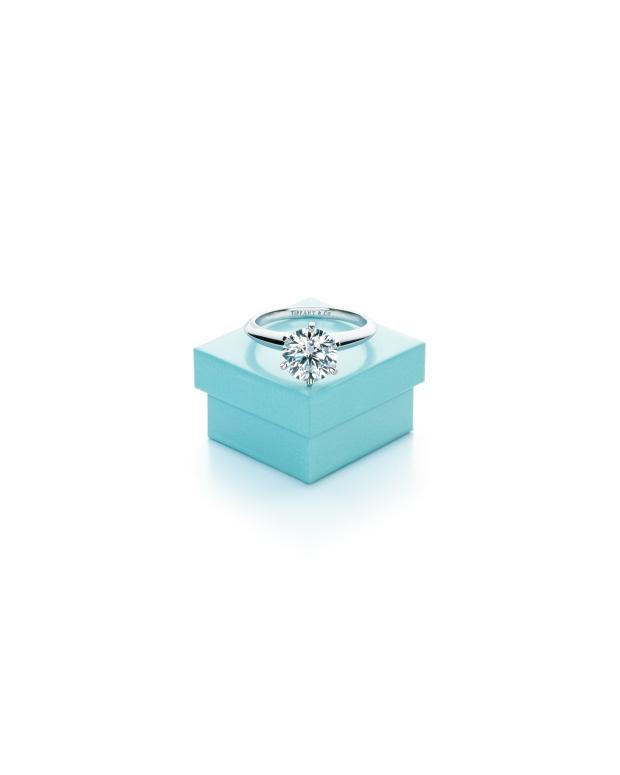 The Tiffany® Setting and Tiffany Blue Box®