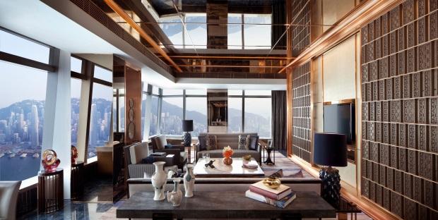 The Ritz-Carlton Suite - Victoria Harbour - Living Room (1).jpg