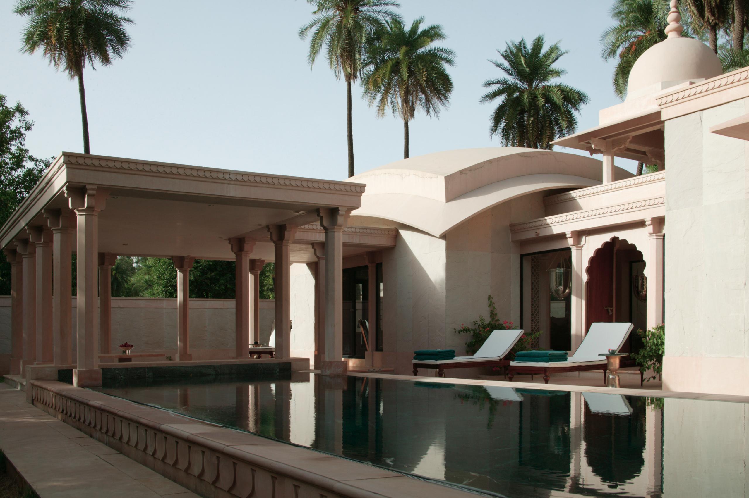 Pool pavilion pool