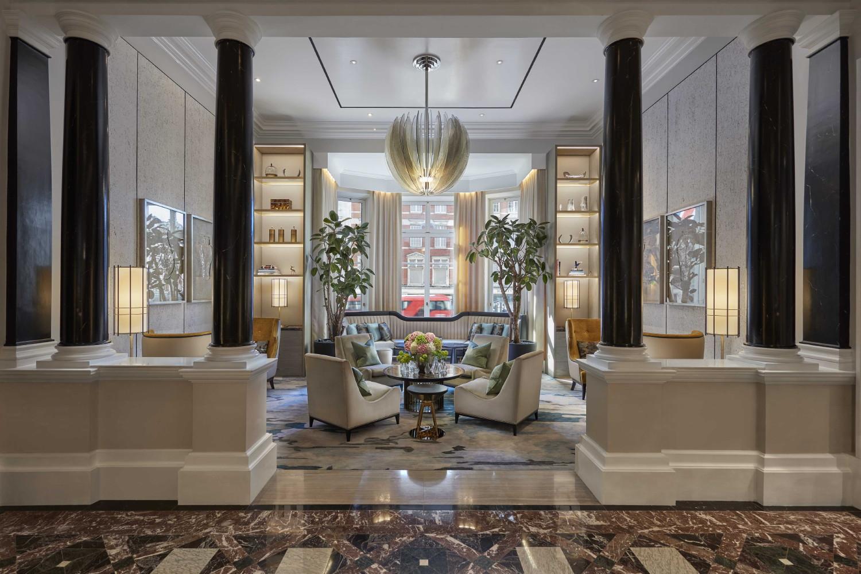 Mandarin Oriental Hyde Park London lobby 2017