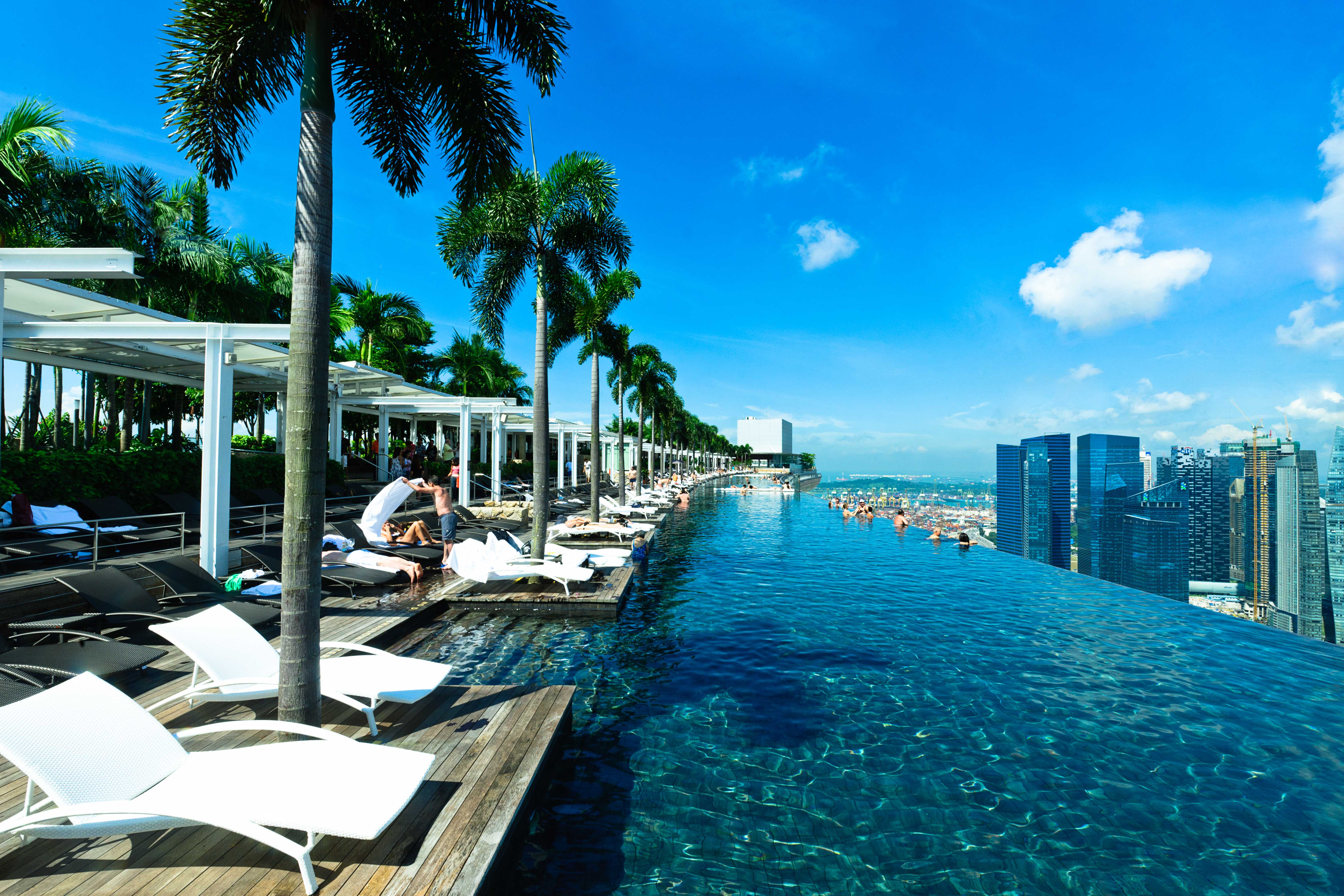 MBS Infinity pool day