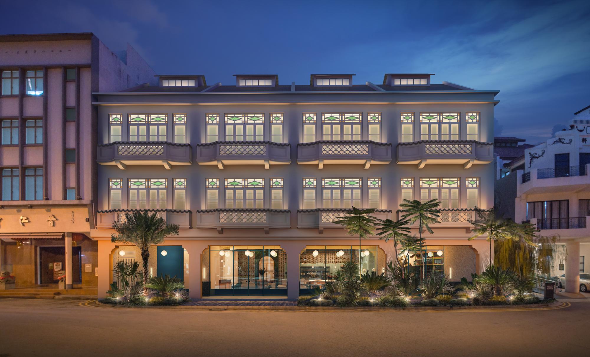 Straits Clan - Building Facade