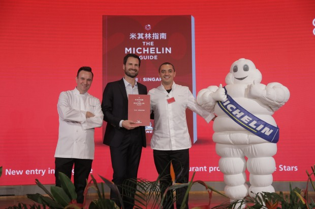 For the first time, Singapore gets two Three-MICHELIN-starred restaurants