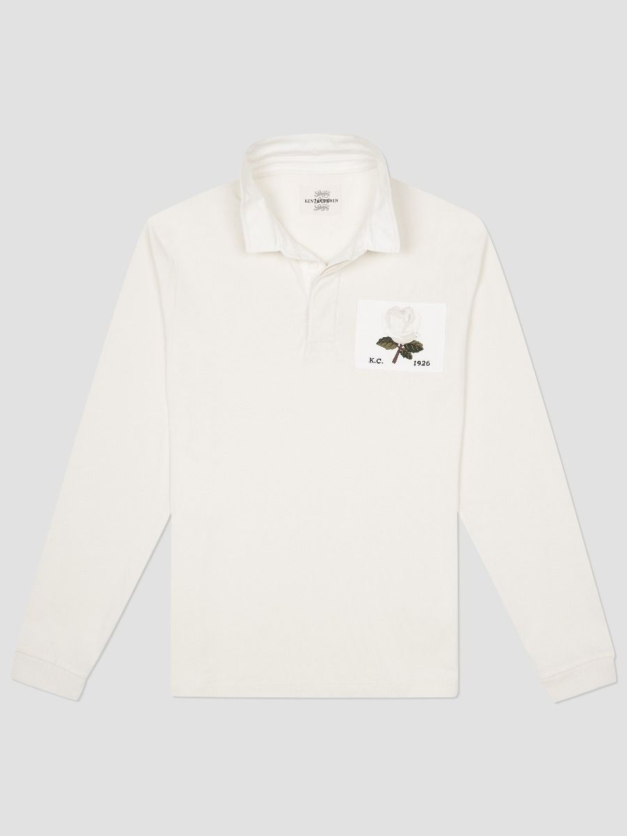 Kent and Curwen England rugby shirt