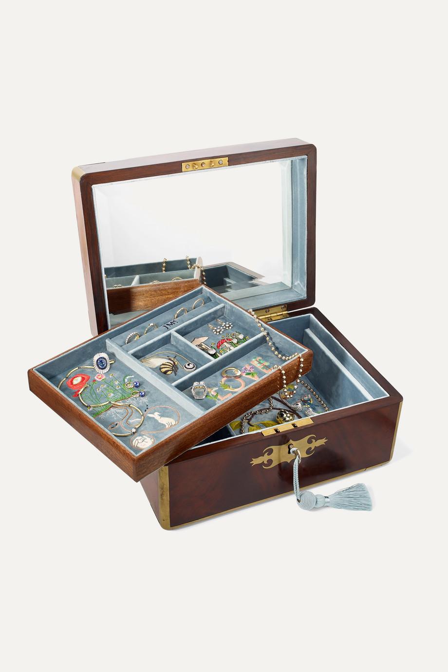 Net a Porter jewellery box