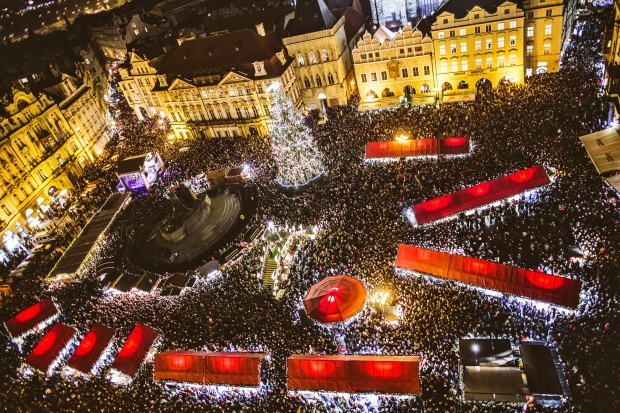 Prague Christmas market - credit Prague Tourism