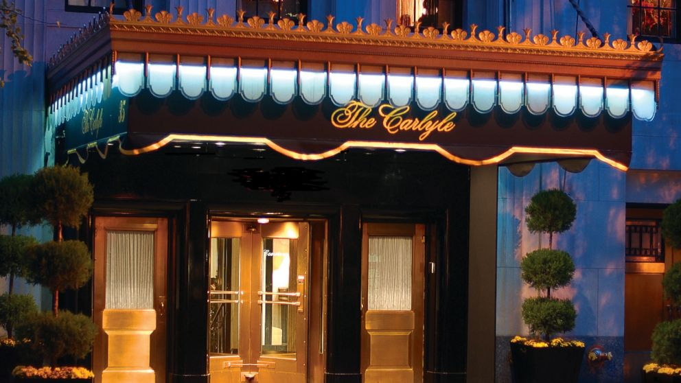 The Carlyle entrance